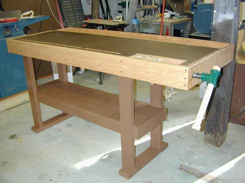 new yankee workshop work table plans